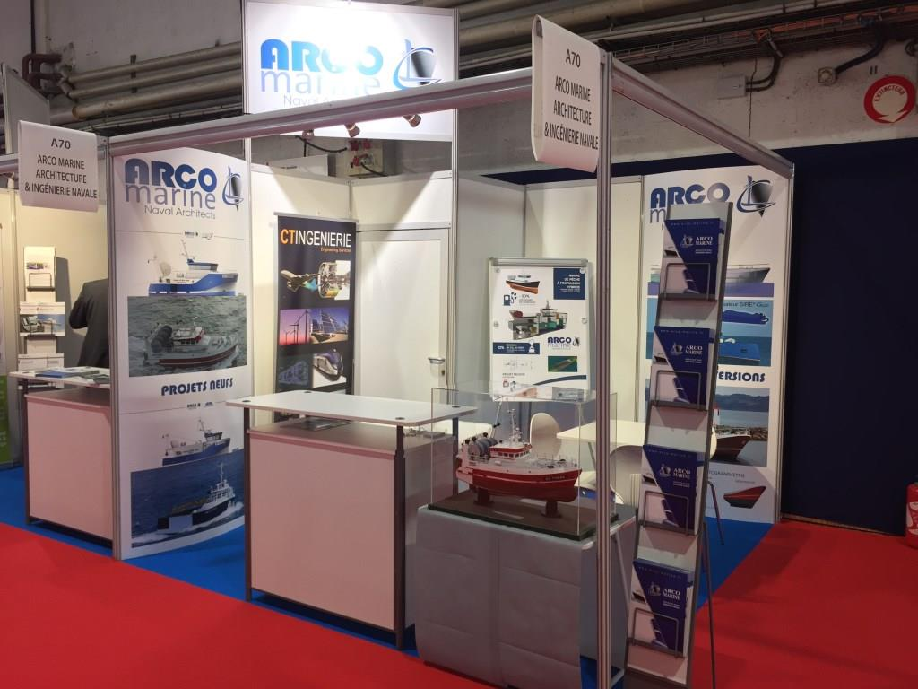 CT & ARCO Marine Unveil the Design of a Hybrid Vessel Project at the Itechmer Trade Show